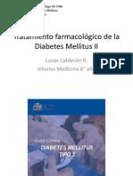 Tratamiento Farmacológico de La Diabetes Mellitus II