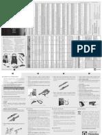 Manual Lavadora Eletrolux de Alta Pressão UPR10