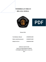 Pemeriksaan Siklus Belanja Modal Presentasi Kel 8