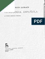 Alarcos Llorach Fonologia Espanola PDF