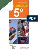 5° Básico - Matemática - Estudiante - 2014.pdf