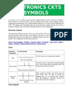 Electronics Ckts Symbols