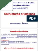 4. Estructuras Cristalinas 2013