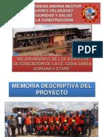 Grupo 6 Seguridad y Salud en La Construccion Ceba Santa Adriana