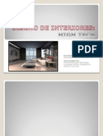 Diseño de Interiores.high Tech