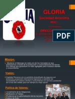 Organigrama Gloria Empresa
