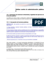 Delitos Contra La Administración Pública (Continuación)