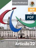 22 Historia de Los Juegos Paralimpicos