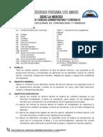 Silabo Taller v Aplicacion de La Legislacion Laboral 2011-i