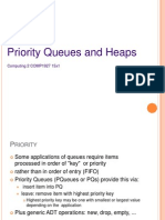 Lecture 6 Heaps and Priority Queues