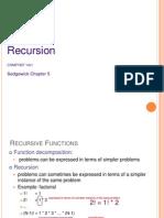 Lecture 4 Recursion