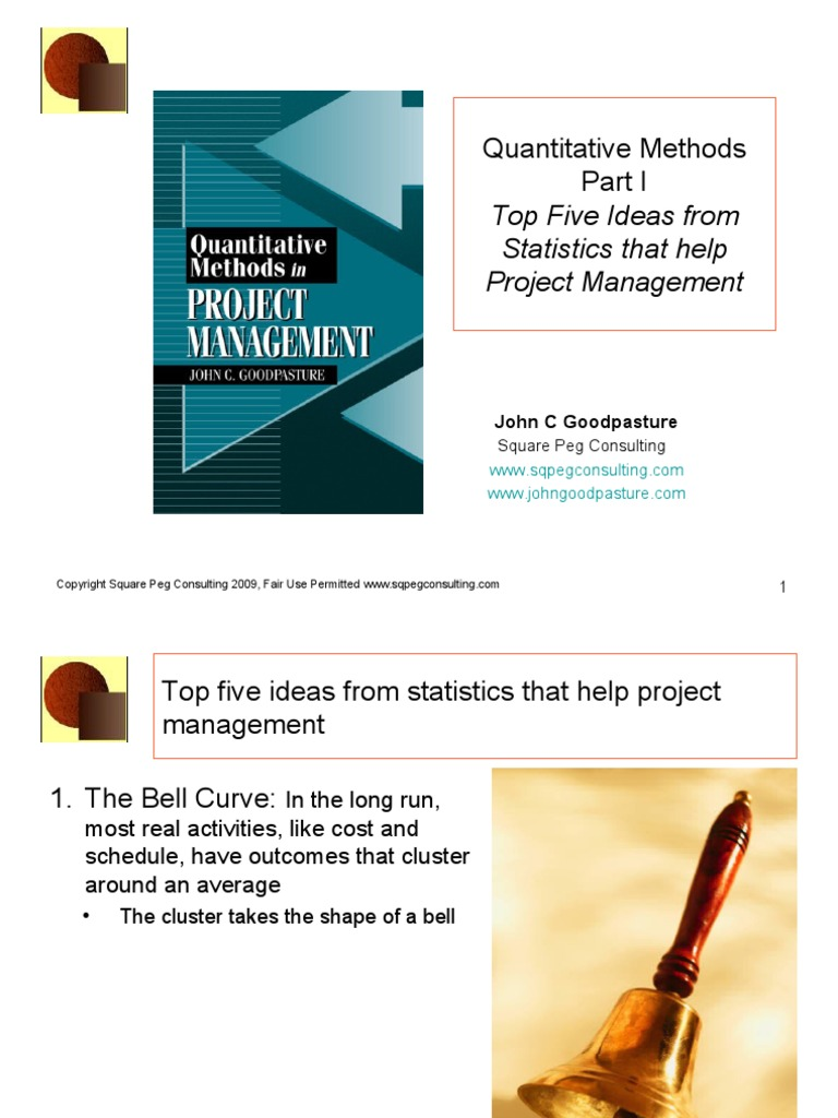 quantitative statistics project ideas