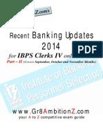 Recent Banking Updates (Part II)