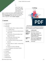 Cardiology - Wikipedia, The Free Encyclopedia