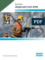 secoroc Underground Rock Drills