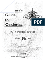 Arthur Otto - The Beginner's Guide to Conjuring (1910)