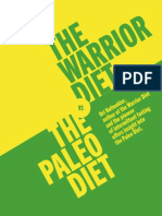 The Warrior Diet vs The Palio Diet