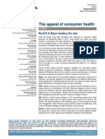 Credit Suise Consumer Health July 2014