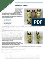 Amigurumitogo.com-Little Bigfoot Giraffe Amigurumi Pattern