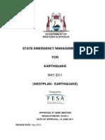 Westplan Earthquake