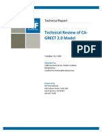 ICF Technical Review of CA GREET 2.0 102414