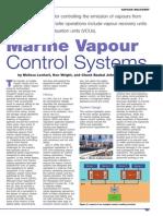 Marine Vapour Control