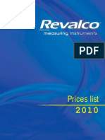 Revalco Price List