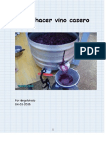 Cómo hacer vino casero. Cómo fabricar la prensa y el molino triturador de uvas.