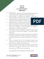 Chapter 4 Chemical Kinetics