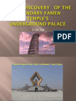 Divine Discovery of the Legendary Famen Temple's Underground Palace