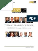 Training Calendar 2014 -