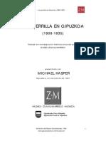 Michael Kasper - La Guerrilla en Gipuzkoa