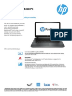 HP Pavilion Notebook PC 15-p003ne