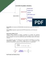 reacciones quimica organicas