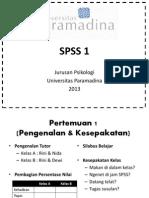 Presentasi Ngasdos SPSS 1