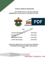 206660315 Laporan Kerja Praktek Pt Dok Dan Perkapalan Kodja Bahari Persero Galangan IV Jakarta Utara