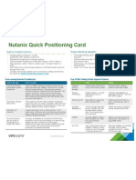 Nutanix Quick Positioning Card