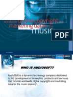 AudioSoft Corporate Presentation