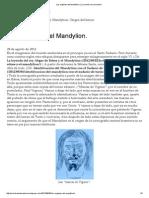 Los Orígenes Del Mandylion
