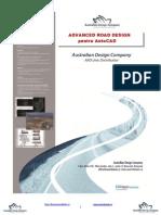 Advanced road design - Manual Autocad