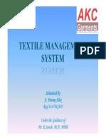 Textilemanagementsystem Reviewiii 130902094011 Phpapp02