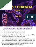 Tema 5 Genes y Herencia