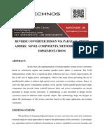 Reverse Converter Design via Parallel-prefix Adders Novel Components, Methodology, And Implementations