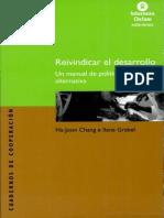 Reinvindicar El Desarrollo, Chang Ha-Joon