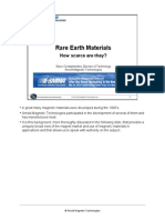 Rare Earth Materials - - How Scarce Are They_100711_update(Autosave)