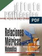 1106-14 MATEMATICA Relaciones Métricas