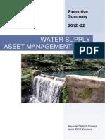 Water Supply - AMP - Hauraki District Council