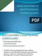 ADECUACIONES O ADAPTACIONES  CURRICULARES.pptx