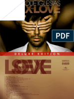 Digital Booklet - SEX AND LOVE (Deluxe Latin Edition)
