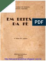 217999378 Frei Damiao Em Defesa Da Fe Livro